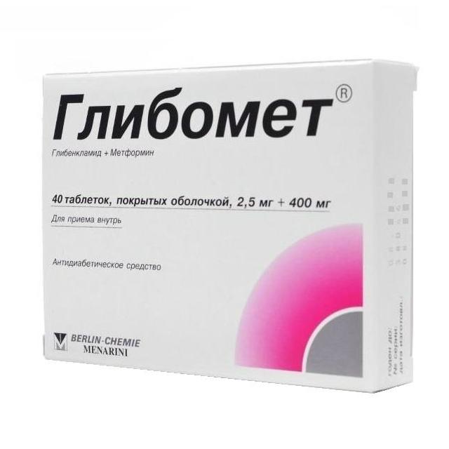 Таблетки «глибомет» для диабетиков