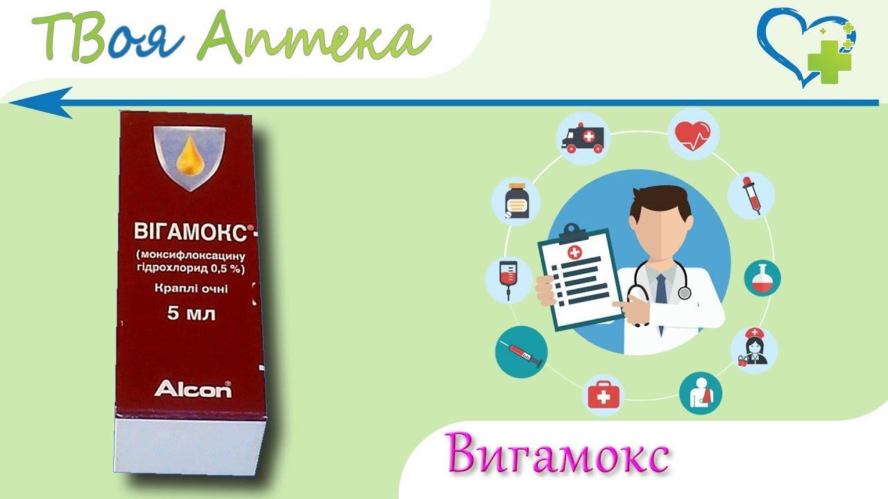 Вигамокс (глазные капли): инструкция по применению, аналоги и отзывы, цены в аптеках россии