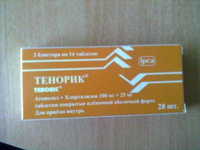 Инструкция по применению таблеток «тенорик»