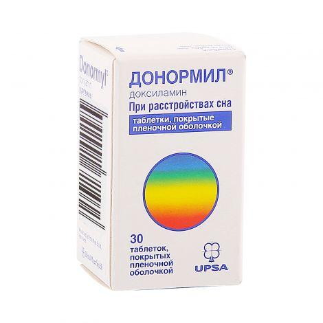 Донормил – инструкция по применению, отзывы, цена, аналоги таблеток