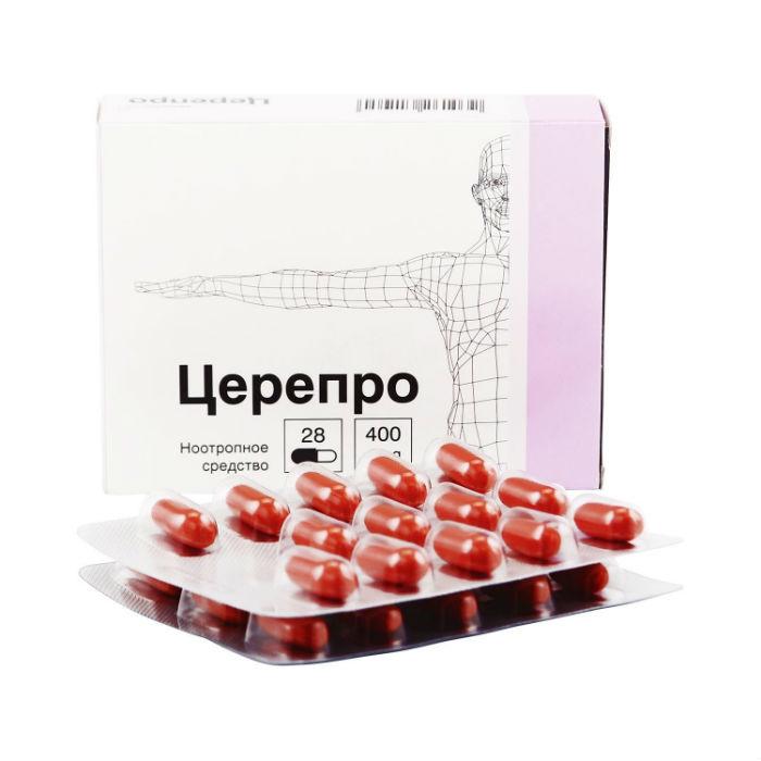 Таблетки 400 мг и уколы церепро: инструкция, цена и отзывы