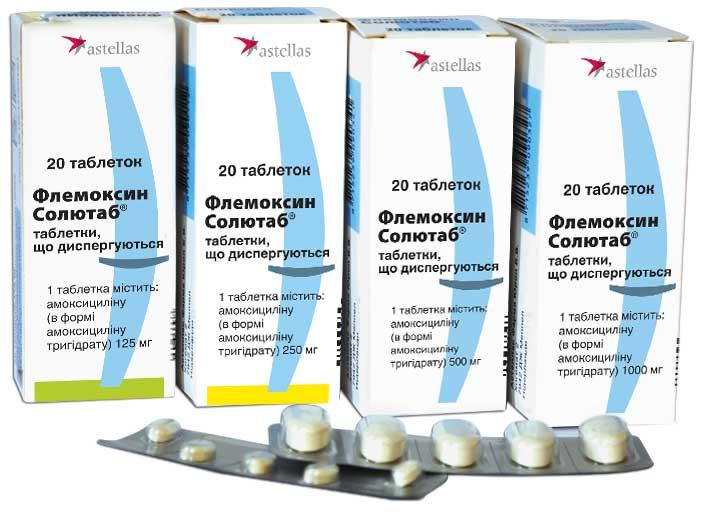«флемоксин солютаб» (для детей) 250 мг: инструкция по применению, цена, аналоги