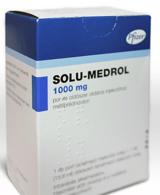 Солумедрол 1000 мг при рассеянном склерозе