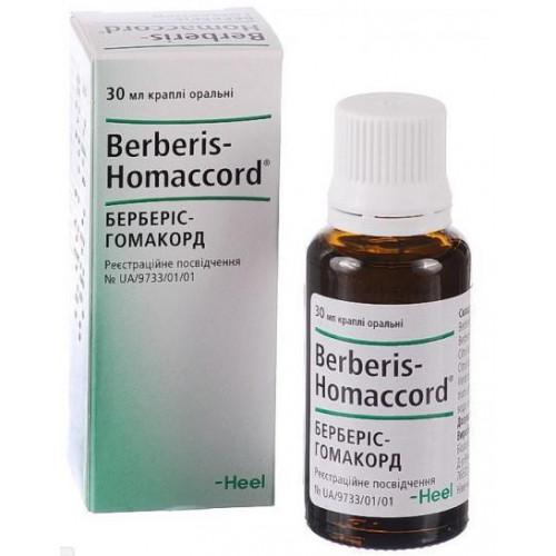 Берберис-гомаккорд (berberis-gomakkord): инструкция по применению гомеопатического лекарства