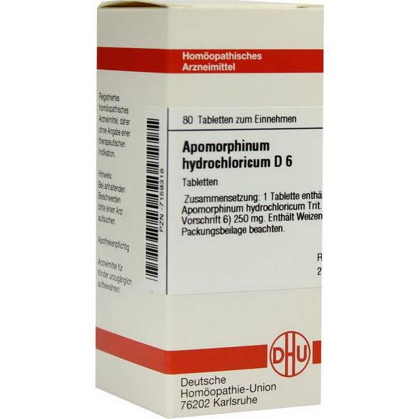 Апоморфина гидрохлорид - инструкция по применению
