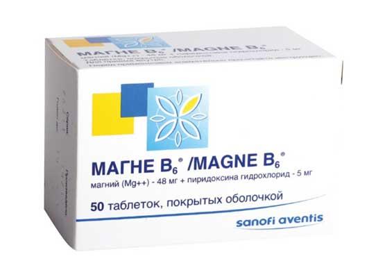 Аналоги магний б6