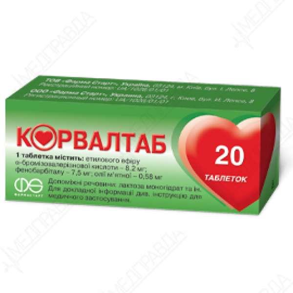 Препарат корвалтаб: инструкция по применению