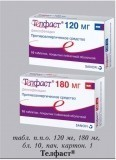 Препарат телфаст: таблетки от аллергии, применение и аналоги