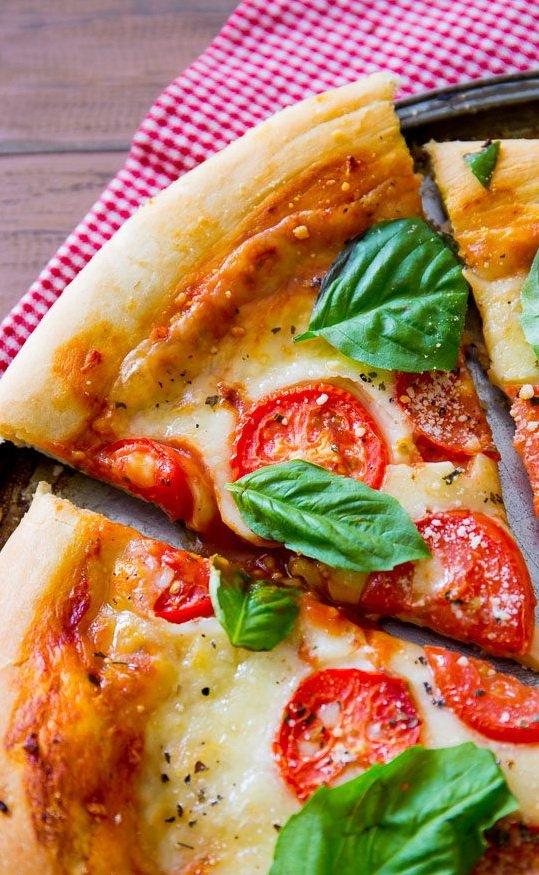 Вегетарианская пицца: рецепт с фото