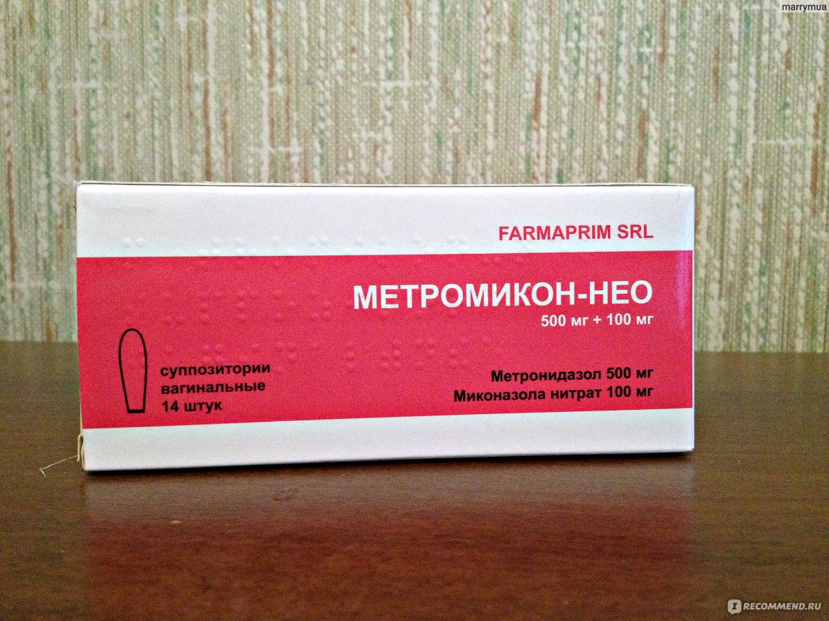 Метромикон-нео (metromicon-neo) свечи. инструкция по применению, цена, отзывы