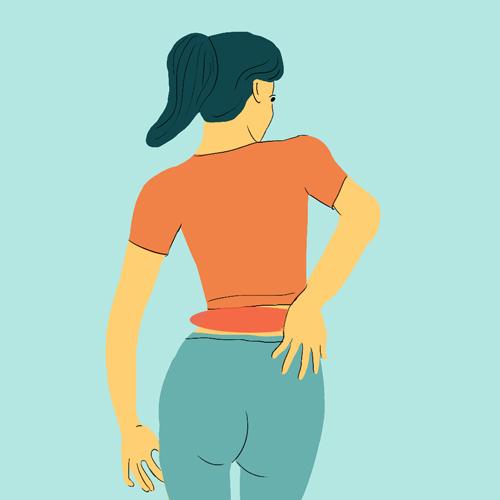 Почему болит поясница и спина по бокам – отдающие боли внизу