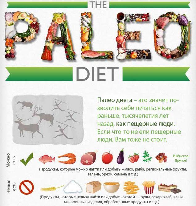 Палеодиета – питание для здоровья