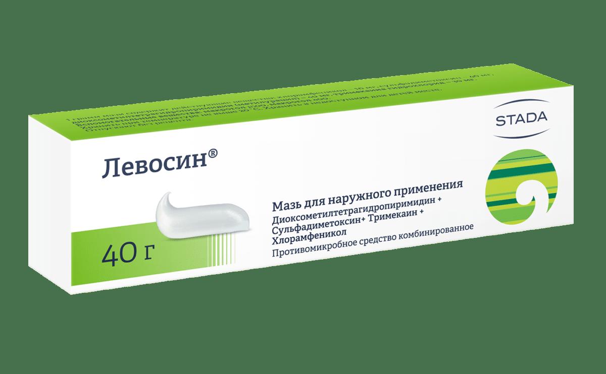 Левосин мазь: инструкция по применению, обзор и отзывы