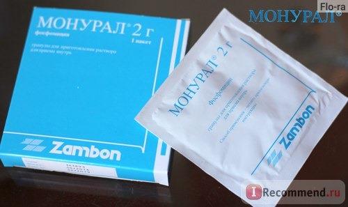 Инструкция поприменению препарата «монурель»