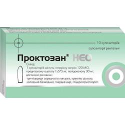 Препарат: проктозан в аптеках москвы