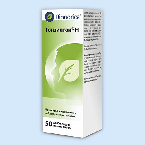 Тонзилгон н таблетки(драже) — инструкция по применению