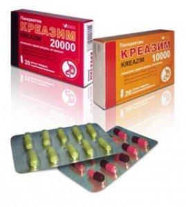 Таблетки креазим: как принимать при панкреатите поджелудочной железы?