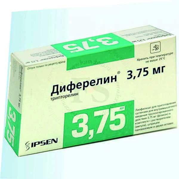 Диферелин – инструкция по применению, 3,75 мг, цена, отзывы, аналоги