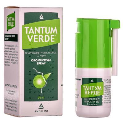 Тантум-верде против кашля?
