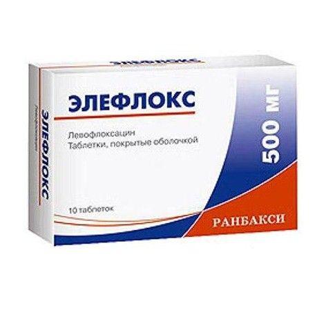 Левофлоксацин