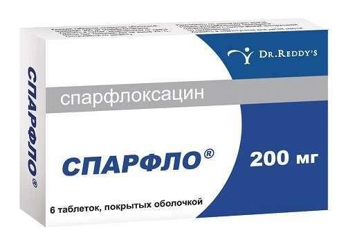 Спарфлоксацин – эффективный и широко применяемый антибиотик