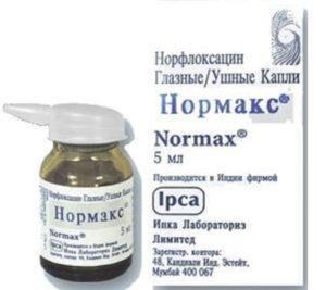 Капли для глаз нормакс: показания, режим дозирования, аналоги