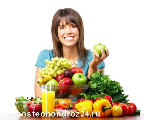 Диета при остеохондрозе: рецепты и рекомендации диетологов