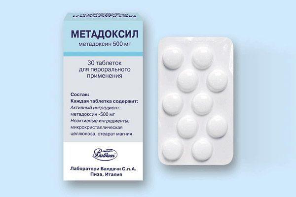 Применение метадоксила при лечении алкоголизма