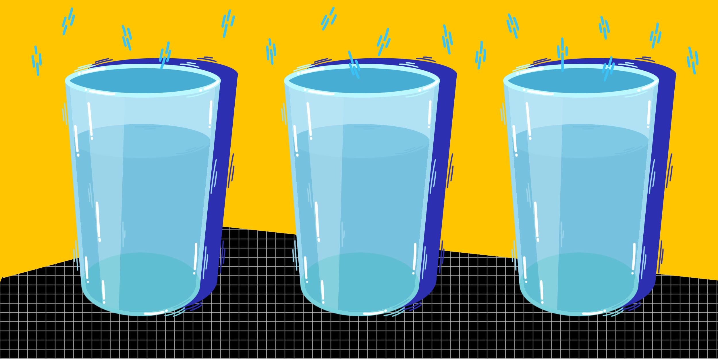 Пить минимум 8 стаканов воды в день уже не нужно.