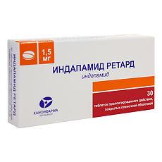 Таблетки 2,5 мг и 1,5 мг арифон (ретард): инструкция, цены и отзывы