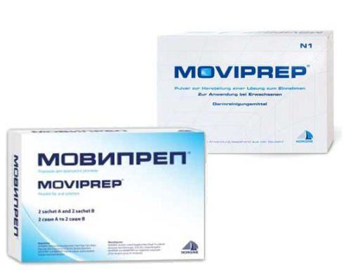 Как происходит подготовка к колоноскопии мовипрепом, если процедура утром или после обеда?