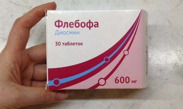 Препарат флебофа при лечении хронической венозной недостаточности
