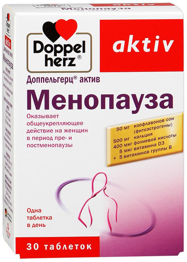 Доппельгерц актив менопауза — какое действие оказывает на женщину во время климакса?