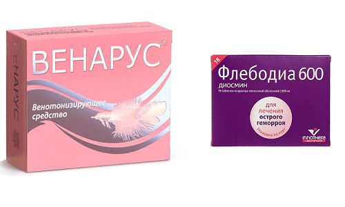 Топ 8 препаратов-заменителей венаруса: список дешевых аналогов