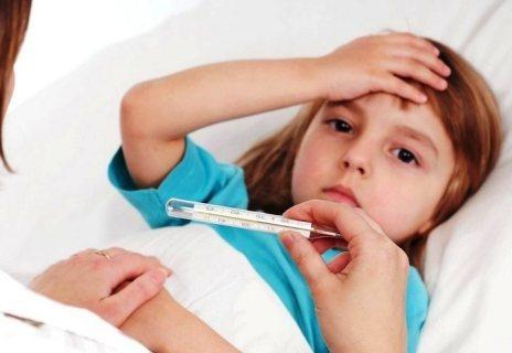 Субфебрильная  температура у ребёнка после вирусной инфекции