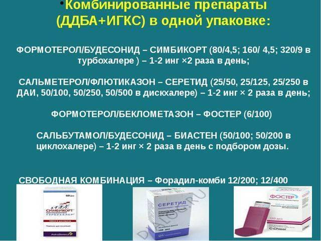 Антигистаминный препарат при приступе астмы