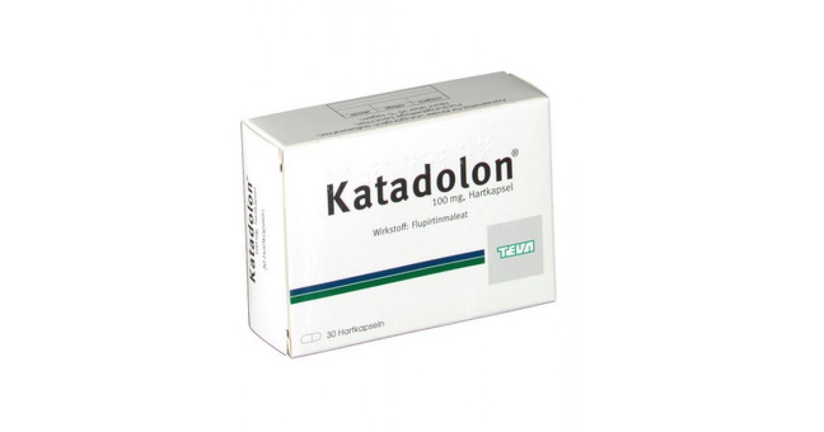 Катадолон (katadolon): описание, рецепт, инструкция