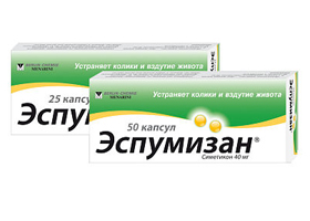 Симетин – дешёвый аналог эспумизана