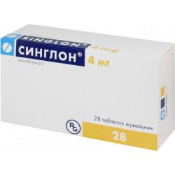Таблетки синглон: инструкция по применению, монтелукаст натрия 10,4 мг