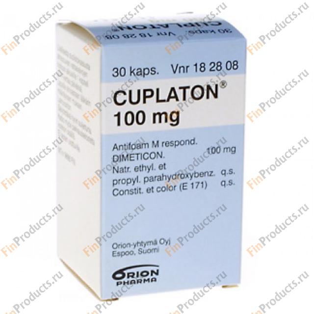 Куплатон: состав, показания, дозировка, побочные эффекты
