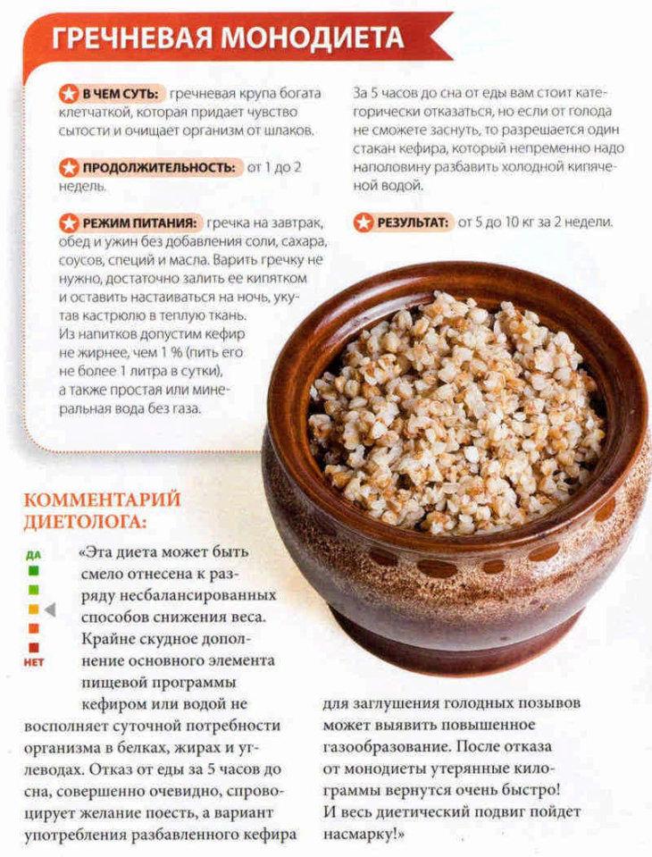 Диета На Гречке Витамины. Гречневая диета: разновидности, правила и меню