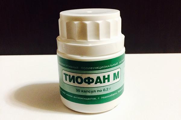 Тиофан в лечении рака