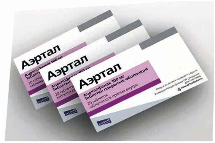 Полный обзор таблеток и мази для суставов «ацеклофенак»
