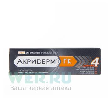 Крем акридерм