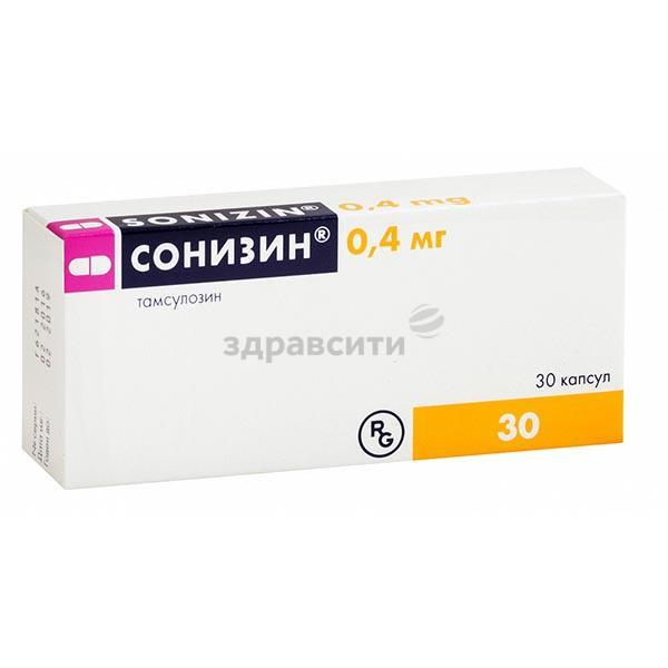 Средство от гиперплазии простаты доброкачественной  «сонизин» (sonizin)