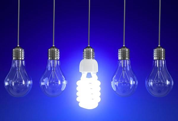 Что делать, если разбилась энергосберегающая лампочка