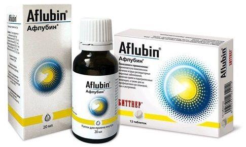 Капли для детей и таблетки афлубин: инструкция, цена и отзывы