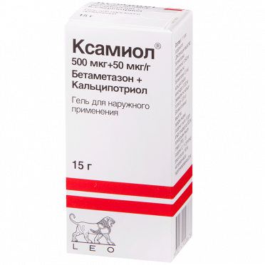 Гель ксамиол при псориазе: инструкция по применению, цена, отзывы и аналоги препарата