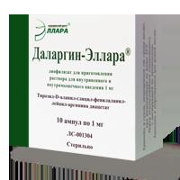 Даларгин: описание препарата, инструкция по применению, доступные аналоги