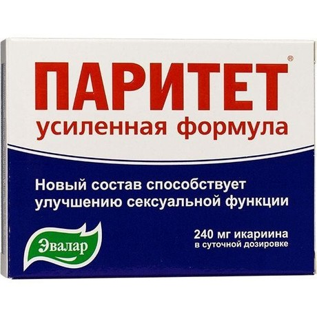 Препарат для поддержания потенции «паритет»